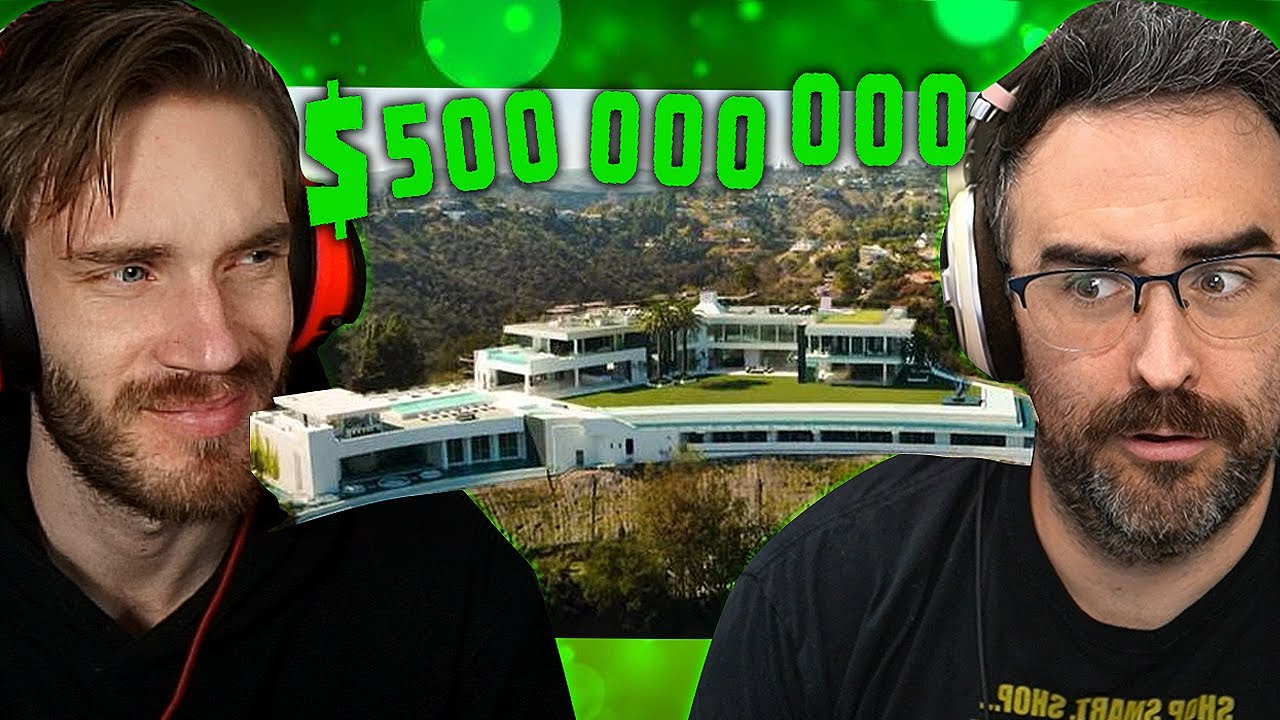 Reacting To The Worlds Biggest House  ($500 000 000)