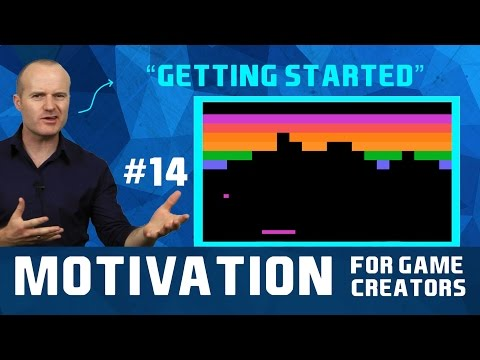 Starting to make games - how to push past your mental block