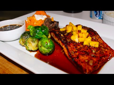Honey Glazed Salmon Recipe
