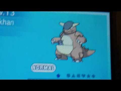 Pokemon heartgold happiness check and pokemon alpha sapphire amazing wonder trade pokemon I got.