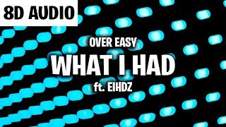 Over Easy - What I Had (8D AUDIO)