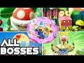 Yoshi's Crafted World - All Bosses (No Damage)
