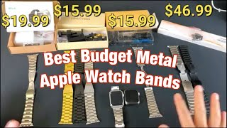 2019 Best Metal Budget Apple Watch Replacement Bands (Series 1,2,3,4, 42mm & 44mm)