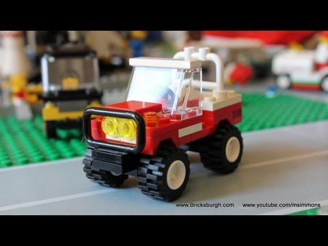 Lego Land Rover Defender Tutorial - Bricksburgh.com