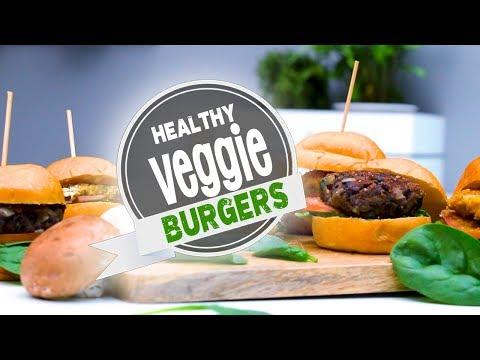 3 Healthy Veggie Burgers (Vegan Recipes)   Joanna Soh