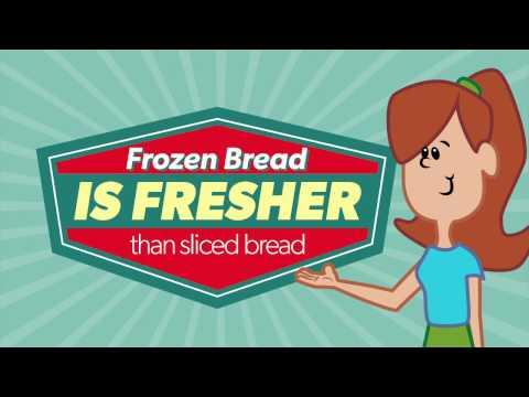 Frozen Bread Is Fresh
