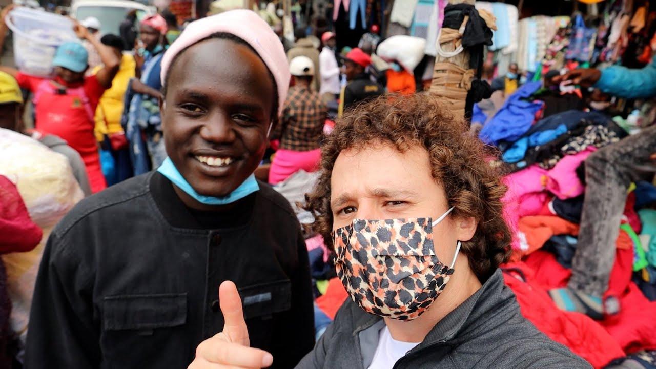 Explorando el mercado de piratería más grande de Africa | Gikomba 🏴☠️