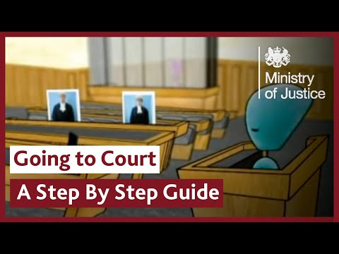 Going to court - a step by step guide to being a witness