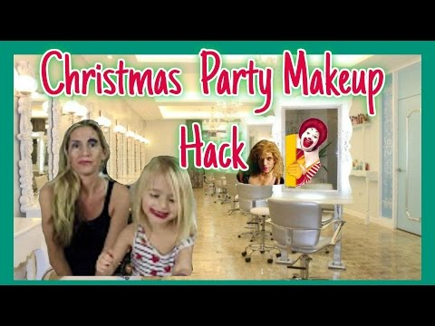 MAKE-UP HACK FOR THE CHRISTMAS PARTY!