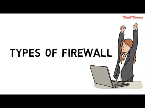 Types of firewall  | network firewall security | TechTerms