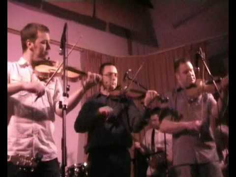 Fiddling in Baltasound Hall, Unst, Shetland