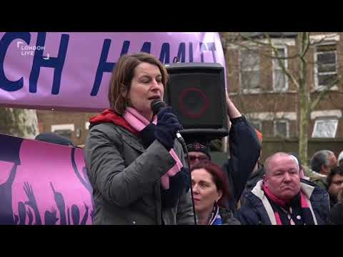 Dulwich Hamlet protest: Helen Hayes MP interview -  London Live