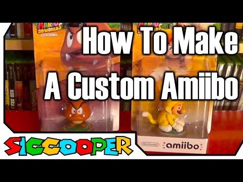 Tutorial: How To Make A Custom Amiibo   SicCooper