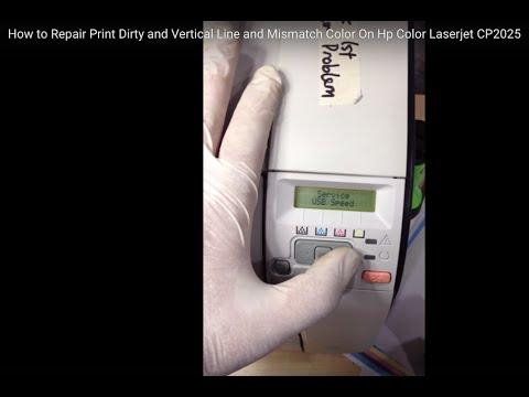 Repair Printer Hp CP2025