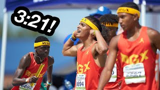 14-Year-Old Boys Set National Relay Record!