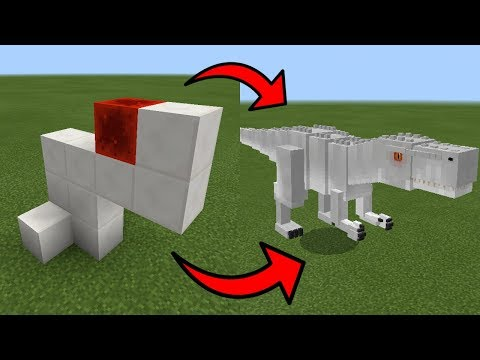 How To Spawn an INDOMINUS REX in Minecraft PE