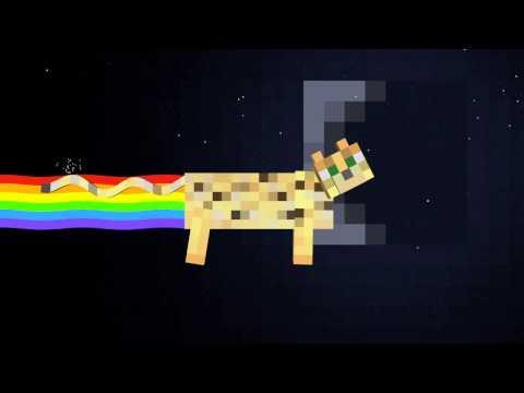 Nyan Ocelot (Minecraft Nyan Cat)