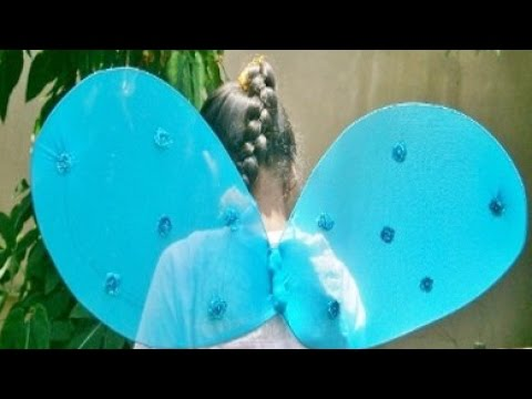 How To Create Beautiful Fairy Wings - DIY Crafts Tutorial - Guidecentral