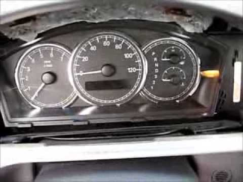 How to Remove Speedometer Cluster from 2005 Buick Lacrose for Repair.