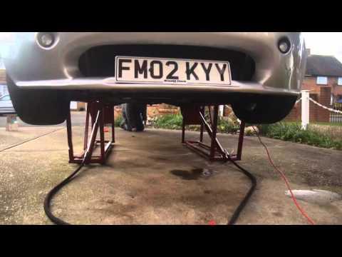 Homemade hydraulic car ramp lift tvr