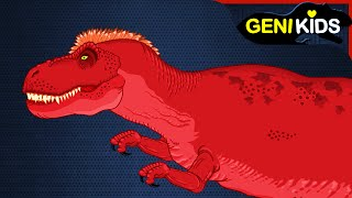 Dinosaurs Cartoons for kids | Fierce Battle Short Movie | Jurassic vs Cretaceous Dinosaurs Fight
