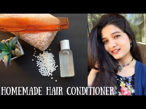 DIY Homemade Hair conditioner in Hindi I How to get long, thick & shiny hair I AVNI