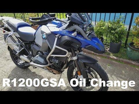 BMW R1200GS Adventure Oil Change