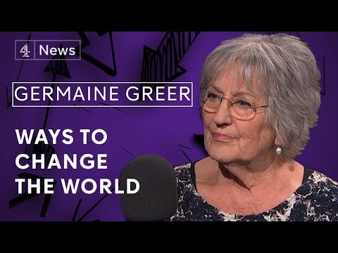 Germaine Greer on women's liberation, the trans community and her own experience of rape