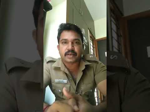 A police constable announced his decision to quit his job in a video on FB