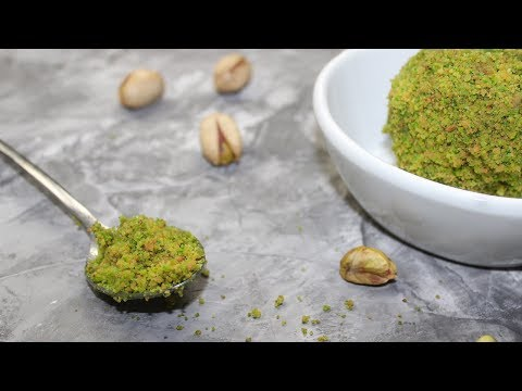 Pistachio Paste Recipe | Homemade Pistachio Paste | How To Make Pistachio Paste At Home