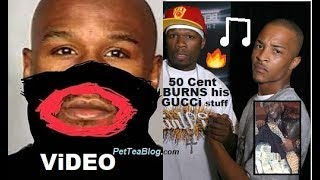 T.I & 50 Cent READ Floyd Mayweather for Supporting GUCCi & Dropping $300k After #BlackFace