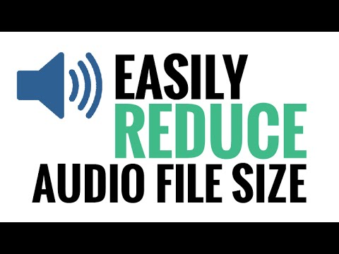 How To Easily Reduce Audio File Size On A Mac - iTunes