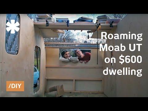 Handbuilt teardrop trailer: 60-square-feet DIY home on wheels