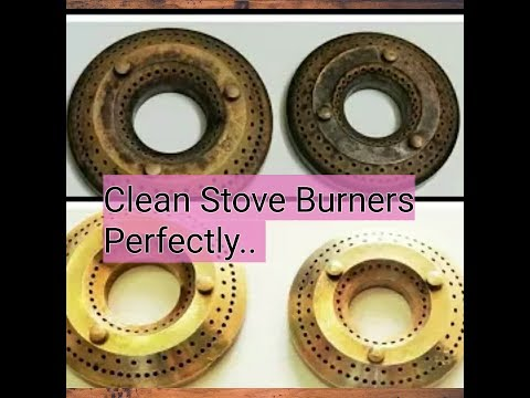 How To Clean Stove Burners, The Easiest Way To Clean Stove Burners, Stove Burners || Ladies Dunia
