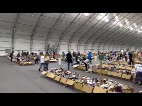 TOMS Las Vegas Warehouse Sale at World Market Center