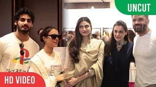 "Shetty Family At Mana Shetty's Charity Exhibition ""ARAAISH"" | SAVE THE CHILDREN INDIA"