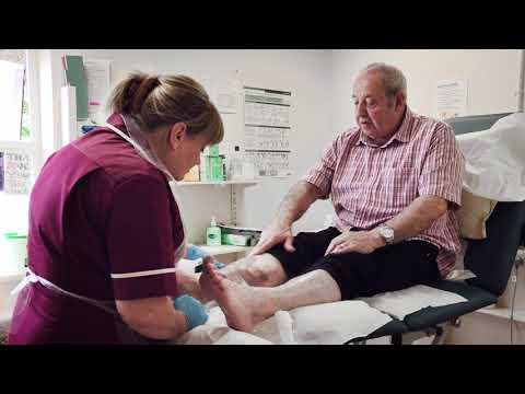 Trafford Leg Ulcer Service - CARES Awards 2017