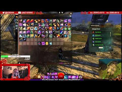 FILLER: 3rd Year Bday GW2 Dye Selection from Youtube Test stream!