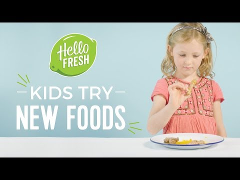 How to Get Kids to Try New Foods | HelloFresh