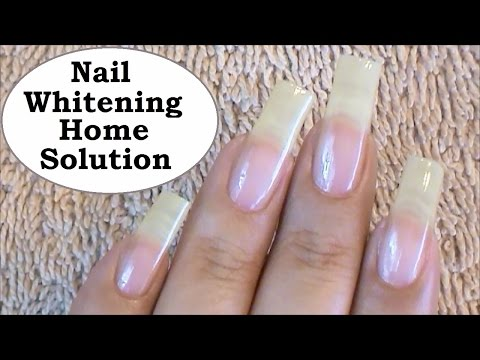 Nail Cleaning Homemade Solution + BLOOPERS