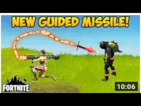 FORTNITE - UNBELIEVABLE GUIDED MISSILE FUNNY KILLS & PLAYS! *NEW* APRIL 2018 (Fortnite Moments)