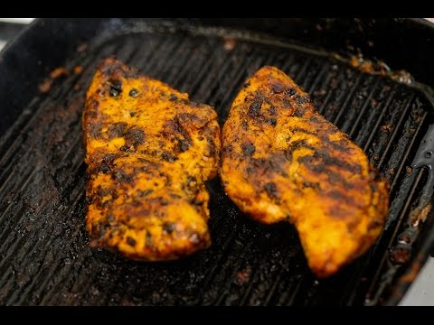 How to make spiced grilled chicken