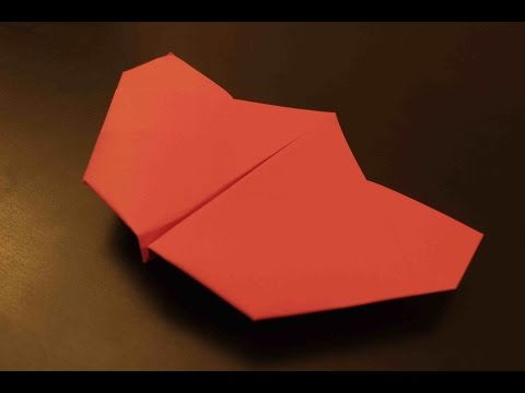 How to make a cool paper plane origami: instruction| Flyer
