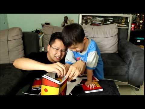DIY: Haruki making Magic Trick (Ironman hand twister)