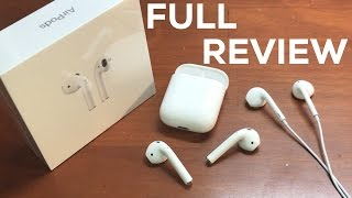 Apple AirPods [FULL REVIEW] - APPLE