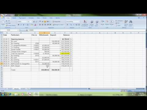 bank reconciliation statement in tally erp9
