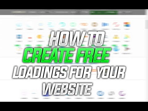 How to create free loadings for your website! GIF,SVG WITH LOADING.IO - Free loadings