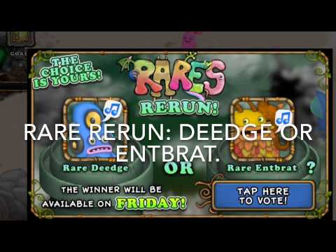 Please vote for Rare Entbrat
