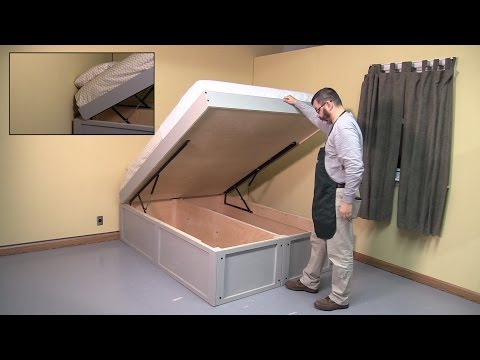 Selby Bed Hardware & Project Build with Woodcraft's George Snyder