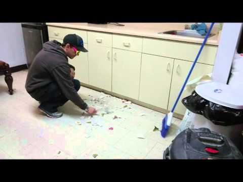 how to clean up broken glass fast easy| magic clean| trevnate| funny video